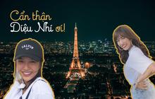 Vừa đăng ảnh check-in tại tháp Eiffel, người hâm mộ đã vội nhắc Diệu Nhi vì cô có thể mắc phải luật nghiêm trọng này