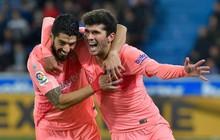 Messi ngồi dự bị, Barcelona vẫn thắng dễ để cách ngôi vô địch La Liga 3 điểm