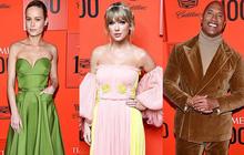 """Thảm đỏ quyền lực Time 100: Taylor Swift khoe ngực khủng bên """"Captain Marvel"""" và dàn siêu sao, BTS đâu mất rồi?"""
