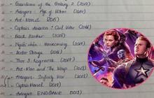 Bánh bèo ôn bài về vũ trụ siêu anh hùng nghiêm chỉnh như thi ĐH: Xem Endgame có tâm như vậy đã vừa lòng anh chưa?