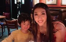 """Ngọc Quyên đón sinh nhật ấm cúng cùng con trai và bạn bè tại Mỹ, tự chúc bản thân sau sóng gió hôn nhân: """"Chỉ mong mọi thứ qua đi"""""""
