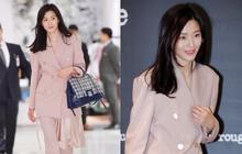 """""""Mợ chảnh"""" Jeon Ji Hyun gây náo loạn vì nhan sắc cực phẩm tại sự kiện, nhưng netizen lại chỉ chú ý đến chiếc nhẫn"""