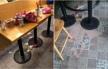 Khách đến rồi đi để lại đống rác nhìn đến ngán ngẩm ở quán trà sữa: Ý thức của các bạn trẻ kém đến vậy sao?