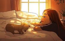 Đây chính là lý do người ta cứ nói người yêu có thể không có, nhưng chó nhất định phải có một con