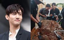 """Sự thanh lịch của Changmin (DBSK) """"rơi rụng"""" cùng với món ăn ngon trong show mới"""
