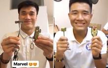 """""""Nội chiến"""" Marvel nổ ra giữa Đức Chinh và Tiến Dũng trước thềm Hà Nội FC đấu Đà Nẵng"""