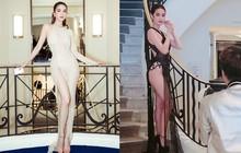 Đi dự LHP Cannes mà Ngọc Trinh mặc toàn đồ hở trên xẻ dưới: là gợi cảm hay phản cảm?