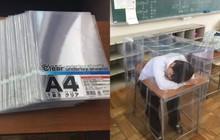 """Đừng ngủ khi lũ bạn còn thức: Ngủ gật ở lớp, nam sinh mở mắt thấy mình đang nằm trong """"nhà kính"""""""