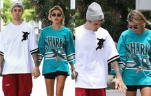 """Giữa tâm bão tin đồn Selena kết hôn cùng tài tử 69 tuổi, """"tình cũ"""" Justin Bieber lại có biểu hiện này bên vợ"""