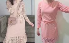 """Vì lười ra ngoài lại ham đồ sale, cô gái nhận luôn """"cú đúp"""" dối lừa khi mua online váy sang chảnh"""