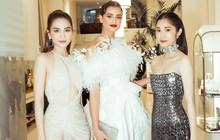 Ngọc Trinh diện váy mỏng tang, đọ sắc cùng Priyanka Chopra, thiên thần Victoria's Secret tại Cannes