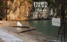 Trình diễn trên đảo hoang sơ, Fashion Voyage có những khoảnh khắc đẹp nín thở, tôn trọn vẹn vẻ đẹp kỳ quan của Vịnh Hạ Long