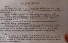 Tờ giấy vietsub bài thi nói tiếng Anh bằng ngôn ngữ rất kỳ quặc khiến dân mạng giơ tay xin hàng