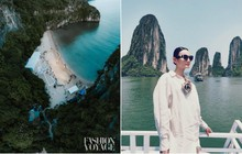 Khám phá hòn đảo mới toanh ở Hạ Long vừa diễn ra fashion show đình đám: Lên hình đẹp đến choáng ngợp, mất 2,5 để di chuyển bằng tàu!