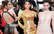 Thảm đỏ Cannes ngày 5: Ngọc Trinh gây choáng toàn tập với trang phục đốt mắt, mỹ nhân Hollywood tranh nhau khoe váy xẻ