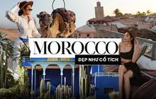 """Richkid Thảo Nhi Lê """"bội thu"""" ảnh đẹp sau chuyến đi đến Morocco - điểm đến kỳ lạ nhất thế giới: Ai bảo châu Phi chỉ có nắng và gió!"""