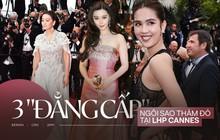 """3 cấp độ """"quyền lực thảm đỏ"""" ở Cannes: Phạm Băng Băng mới chỉ hạng VIP, còn Ngọc Trinh hạng """"chíp chíp""""?"""