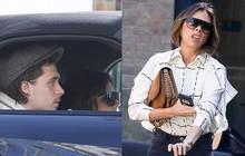 """Lâu lắm mới được con trai đón bằng siêu xe, nhưng Victoria Beckham lại có biểu cảm """"chịu đựng"""" không thể hài hơn"""