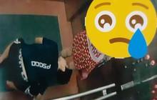 """Chung cư ở Bình Định dán hình kẻ """"biến thái"""" nhìn dưới váy cô gái trong thang máy để cảnh báo cư dân"""
