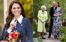 """Không kém cạnh Meghan Markle, Kate Middleton """"cả gan"""" phá vỡ quy tắc thời trang Hoàng gia bất chấp cả Nữ hoàng?"""