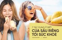 """Tuy có hơi """"nặng mùi"""" nhưng ăn sầu riêng sẽ mang đến rất nhiều lợi ích cho sức khoẻ"""