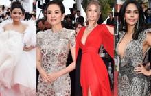 """Cannes ngày 6: Chương Tử Di thần thái ngút ngàn, """"Hoa hậu đẹp nhất mọi thời đại"""" đè bẹp loạt mỹ nhân Hollywood"""