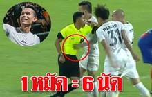 Tuyển thủ Thái Lan nhận hậu quả bẽ bàng sau pha đánh lén trọng tài: treo giò 8 trận, nộp phạt gần 90 triệu VNĐ, mất cơ hội đá King's Cup
