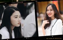 Đặc sản mùa bế giảng: Con gái Hà Nội chỉ cần diện áo dài trắng thôi là xinh hết phần người khác rồi!