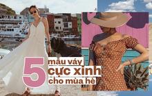 5 mẫu váy cực xinh cho các nàng công sở thay đổi style mùa hè