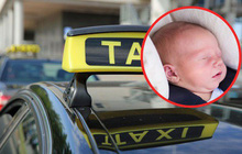 Đưa con mới sinh từ bệnh viện về nhà, bố mẹ lơ đễnh... quên cả con trên xe taxi