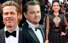 """Thảm đỏ Cannes nóng lên từng phút: Brad Pitt - Leonardo lịch lãm """"ná thở"""", Chương Tử Di khoe vòng một giành spotlight"""