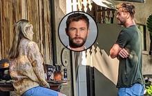 """""""Thor"""" Chris Hemsworth bị bắt gặp hẹn cafe cùng tình cũ, một nhân vật đặc biệt gây chú ý vì bất ngờ xuất hiện"""