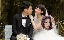 """""""Cô dâu"""" Hiền Hồ vừa đổi kiểu tóc nữ tính, cư dân mạng đồng loạt gọi tên """"chú rể"""" Bùi Anh Tuấn"""