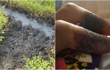 Truy tìm kẻ đổ chất thải độc hại ra mương nước ở Hải Phòng