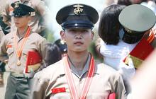 Hàng nghìn người đang phát sốt vì nam thần Kpop nhận bằng quân đội mà đẹp thần thánh như cắt ra từ phim điện ảnh