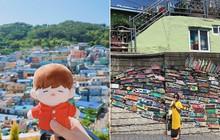 """Làng cổ Gamcheon: Từ một khu ổ chuột trở thành """"Santorini của Hàn Quốc"""""""