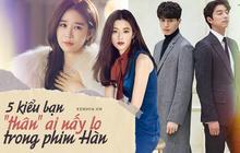 """5 tình """"chị chị em em"""" của phim Hàn: Số 1 cướp vai trơ trẽn, số 2 nam chính nam phụ """"hôn lén"""" ở hậu trường"""