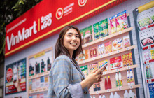 """Vingroup mở """"siêu thị ảo"""" đầu tiên tại Việt Nam: Mua sắm chỉ cần quét mã, 2 tiếng sau hàng tới tận nhà"""