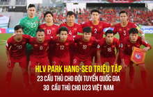 Chốt danh sách tuyển Việt Nam dự King's Cup: Nhiều ngôi sao vắng mặt