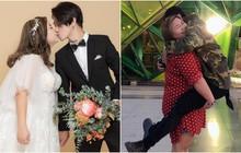 """Couple """"đũa lệch"""" chồng gầy vợ béo cưới nhau sau 2 tháng hẹn hò: Cầu hôn qua video call, quyết không cho vợ giảm cân vì lý do này"""