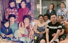 Đăng ảnh gia đình 20 năm trước và bây giờ, Phương Oanh ngầm chứng minh sở hữu nhiều nét xinh đẹp từ bé