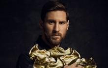 Messi giành Chiếc giày vàng, đạt cột mốc khiến Ronaldo cũng phải ao ước