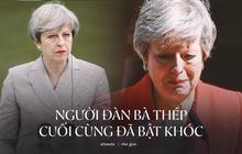 """Khoảnh khắc xúc động khi """"người đàn bà thép"""" Theresa May rơi nước mắt trong giây phút tuyên bố từ chức và 3 năm thăng trầm của nữ Thủ tướng Anh"""