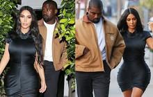 Kim Kardashian cùng chồng hẹn hò kỷ niệm 5 năm ngày cưới và tâm điểm chú ý đổ dồn vào vòng eo con kiến của cô
