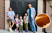 Bị ngã suối khi đi du lịch Hàn Quốc, đây là cách con trai 8 tuổi của Ốc Thanh Vân cố gắng chịu đau vì sợ mẹ xót
