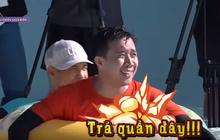 Running Man: Bị Kelvin Khánh chơi xấu, Trấn Thành quyết định... cởi luôn quần