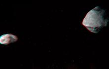 """Vừa có một thiên thạch sượt qua Trái đất, và nó đủ lớn để có cả """"Mặt trăng"""" của riêng mình"""