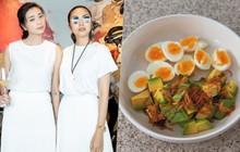 Hà Tăng vừa khoe thành quả món ăn mới học, đàn chị Ngô Thanh Vân đã lập tức lên tiếng dặn dò