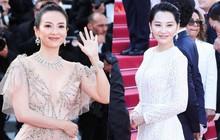 Chương Tử Di lại hút ống kính bằng vẻ đẹp không tì vết nhưng một người đẹp 50 tuổi khác cũng gây chú ý không kém trong ngày bế mạc Cannes