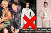 """Trong khi NTK Việt im lặng, stylist của Hoa hậu H'Hen Niê mạnh dạn nhận yếu kém khi để cô mặc váy """"giống mẫu của NTK nước ngoài khác"""""""